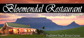 Bloemendal Restaurant, Durbanville, Northern Suburbs (CPT), Cape Town, Western Cape, South Africa restaurants
