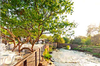 Picture Al Fiume in Hennops River, Centurion, Pretoria / Tshwane, Gauteng, South Africa