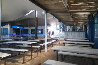 Picture Beach Bums Restaurant in Westbrook, North Coast (KZN), KwaZulu Natal, South Africa