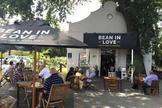 Picture Bean In Love Coffee House in Paarl, Cape Winelands, Western Cape, South Africa
