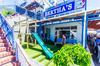 Picture Bertha's Restaurant in Simon's Town, False Bay, Cape Town, Western Cape, South Africa