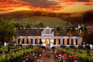 Picture Bosman's Restaurant in Paarl, Cape Winelands, Western Cape, South Africa