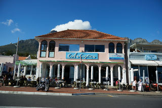 Picture Cafe Caprice in Camps Bay, Atlantic Seaboard, Cape Town, Western Cape, South Africa