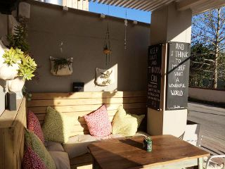 Picture Cafe Throbb in Knysna, Garden Route, Western Cape, South Africa