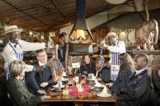Picture Carnivore Restaurant in Muldersdrift, West Rand, Gauteng, South Africa