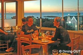 Picture Codfather Seafood and Sushi in Camps Bay, Atlantic Seaboard, Cape Town, Western Cape, South Africa