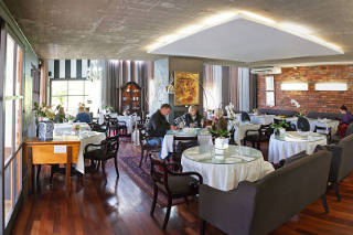 Picture Cuv�e Restaurant at Simonsig Estate in Stellenbosch, Cape Winelands, Western Cape, South Africa