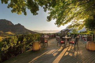 Picture Delaire Graff Restaurant in Stellenbosch, Cape Winelands, Western Cape, South Africa
