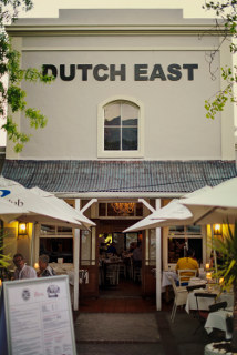 Picture Dutch East Restaurant in Franschhoek, Cape Winelands, Western Cape, South Africa