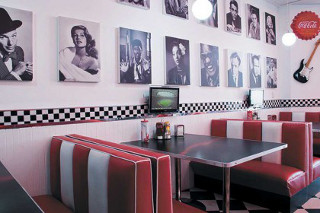 Picture Franky's Diner in Sea Point, Atlantic Seaboard, Cape Town, Western Cape, South Africa