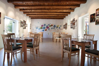 Picture Fyndraai Restaurant at Solms-Delta in Franschhoek, Cape Winelands, Western Cape, South Africa