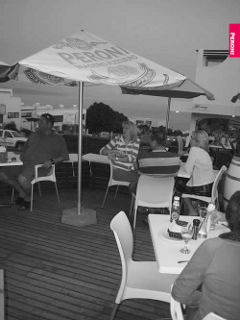 Picture Ghillies Grill @ Peroni Café in Plettenberg Bay, Garden Route, Western Cape, South Africa