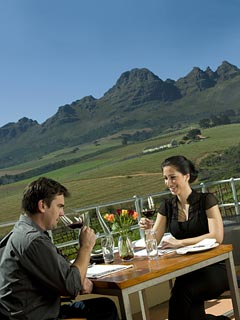 Picture Guardian Peak in Stellenbosch, Cape Winelands, Western Cape, South Africa