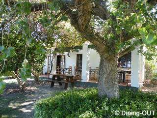 Picture Helderberg Restaurant at L�Auberge in Somerset West, Helderberg, Western Cape, South Africa