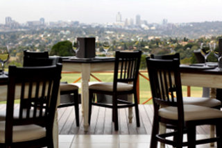 Picture Higher Ground Restaurant in Bryanston, Sandton, Johannesburg, Gauteng, South Africa