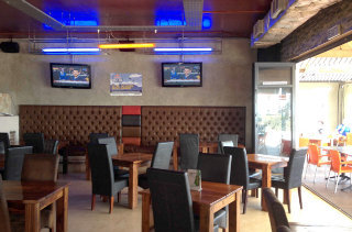 Picture Inside Sports Lounge and Restaurant in Big Bay, Blaauwberg, Cape Town, Western Cape, South Africa