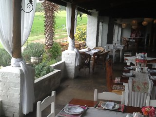 Picture La Rosa Blu Caf� in George, Garden Route, Western Cape, South Africa