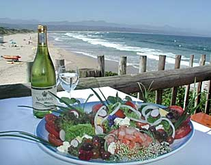 Picture The Lookout Deck in Plettenberg Bay, Garden Route, Western Cape, South Africa