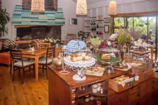 Picture Love Food Caf� at Knysna Elephant Park  in Plettenberg Bay, Garden Route, Western Cape, South Africa