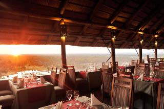 Picture The MaKuwa-Kuwa Restaurant in Victoria Falls (Zim), Zimbabwe