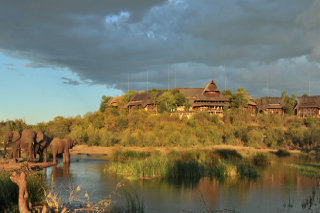 Picture The MaKuwa-Kuwa Restaurant in Victoria Falls (Zim), Zimbabwe
