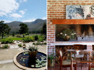 Picture Manor House Restaurant at Stanford Valley  in Stanford, Overberg, Western Cape, South Africa