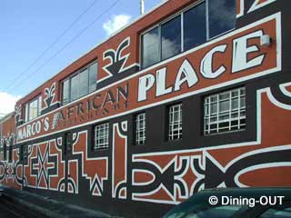 Picture Marco's African Place in Cape Town CBD, City Bowl, Cape Town, Western Cape, South Africa