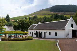 Picture Morgenhof in Stellenbosch, Cape Winelands, Western Cape, South Africa