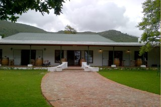 Picture Mountainside Restaurant at Ruitersvlei in Paarl, Cape Winelands, Western Cape, South Africa