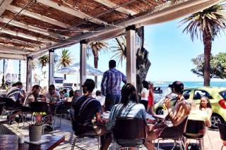 Picture Mynt Café in Camps Bay, Atlantic Seaboard, Cape Town, Western Cape, South Africa