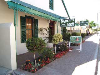 Picture Nancy's Tea Room in Clanwilliam, West Coast (WC), Western Cape, South Africa