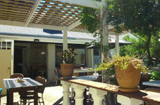 Picture Old Harbour Caf� in Hermanus, Overberg, Western Cape, South Africa