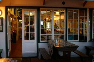 Picture Quarterdeck International Coffee Shop in Simon's Town, False Bay, Cape Town, Western Cape, South Africa