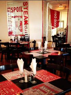 Picture The Red Door Restaurant & Bar in Strand, Helderberg, Western Cape, South Africa