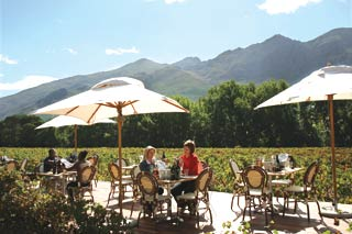 Picture Paulina's at Rickety Bridge in Franschhoek, Cape Winelands, Western Cape, South Africa