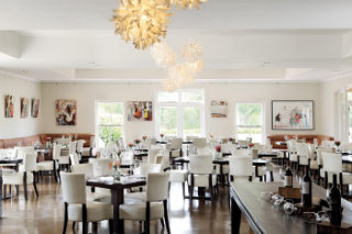 Picture Spier Hotel Restaurant in Stellenbosch, Cape Winelands, Western Cape, South Africa