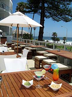 Picture Sunset Deck & Restaurant @ The Peninsula in Sea Point, Atlantic Seaboard, Cape Town, Western Cape, South Africa