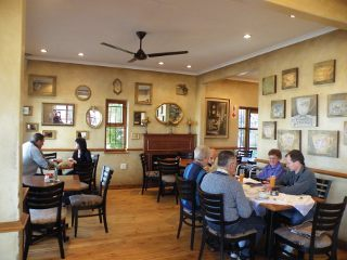 Picture The Verandah Bistro in Kenmare, Krugersdorp, West Rand, Gauteng, South Africa