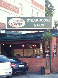 Picture Thunder Gun Steakhouse in Blackheath, Northcliff/Rosebank, Johannesburg, Gauteng, South Africa