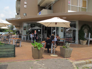 Picture Voodoo Lily Café in Melrose, Sandton, Johannesburg, Gauteng, South Africa