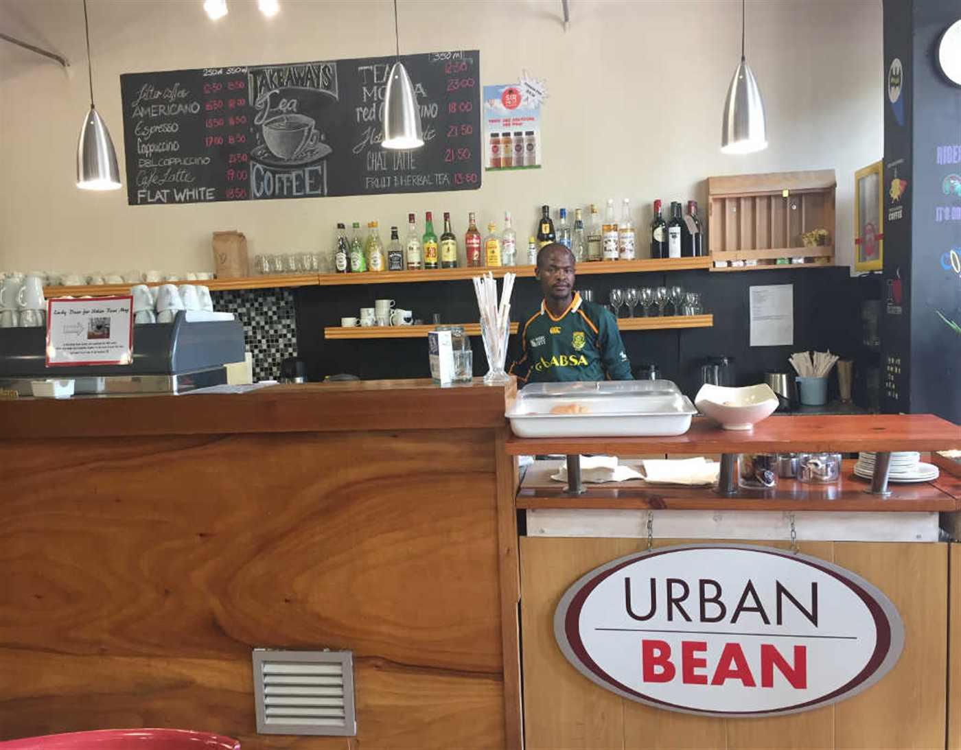 urban bean cafe