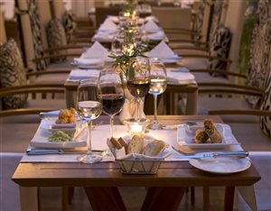 The Square Restaurant at the Vineyard Hotel
