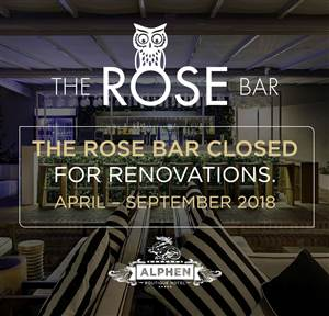 The Rose Bar at The Alphen Hotel