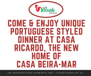 Hermanus Restaurants, Casa Ricardo's
