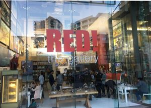 Cape Town CBD Restaurants, Red! The Gallery on Bree